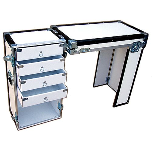 Convertible ATA 3 8  Case for Convention Furniture   4 Drawer Desk Case. 153 best                  images on Pinterest   Road cases