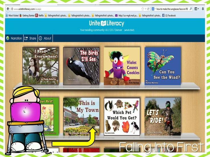 Free Online Library For Beginning Readers - Falling Into First