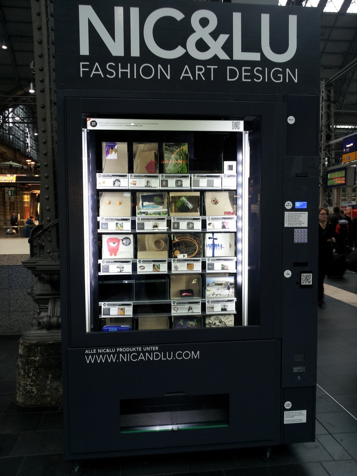 Design products from vending machine from NIC & LU - a ...