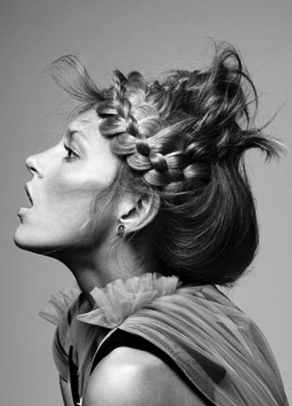 ♥Trensas Braids Hair, Braids In, Creative Hair, Awesome Braids, Anja Rubik Hair, Braid Hair, Hair Style, Braids Crazy, Cases Hair