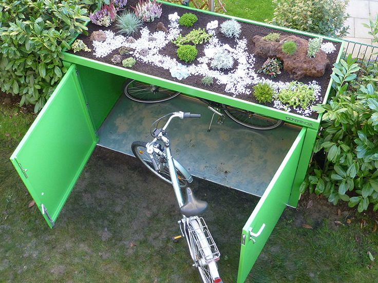 37 best Bike Locker Ideas images on Pinterest Bike locker, Bike - wasserspiele im garten edelstahl