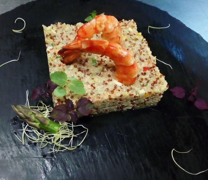 Σαλάτα κινόα με γαρίδες- από τη παίκτρια του Master Chef Μαργαρίτα Κασάπη
