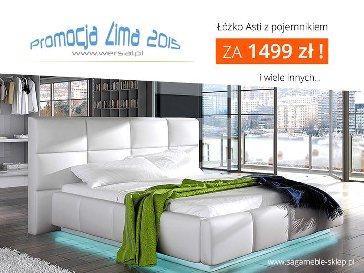 Narożniki rozkładane, wersalki do spania, łóżka tapicerowane i inne wyjątkowe produkty w wyjątkowych cenach!.  Więcej na http://sagameble-sklep.pl/789-wersal-zima-2015