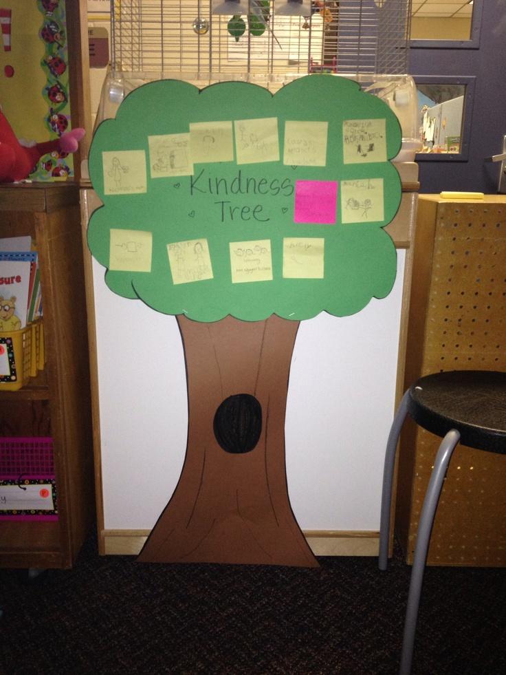 Nguyen Kindness Tree My Classroom Pinterest Trees