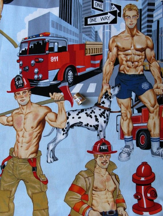 I need to find some pin up musculy men somewhere for my MIL!