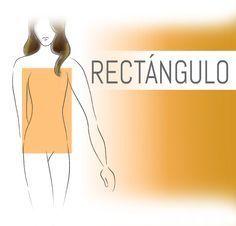 CUERPO RECTANGULAR    Tu cuerpo no tiene muchas curvas.  Tus hombros y busto tienen el mismo ancho de tus caderas con..