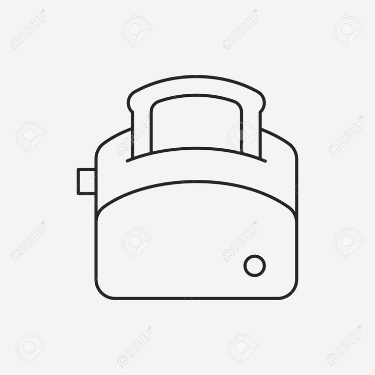 line icon toaster - Google Search