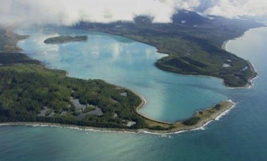 The largest tsunami on record, struck Lituya Bay, Alaska.  1720 foot wave, two days after Alaska became a state.