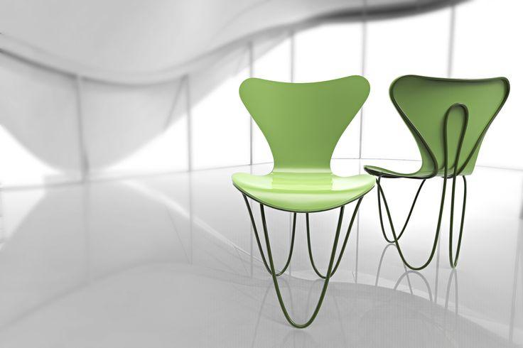 7 Cool Architects ǁ Designer: Zaha Hadid ǁ Fritz Hansen Series 7™ chair (3107) by Arne Jacobsen