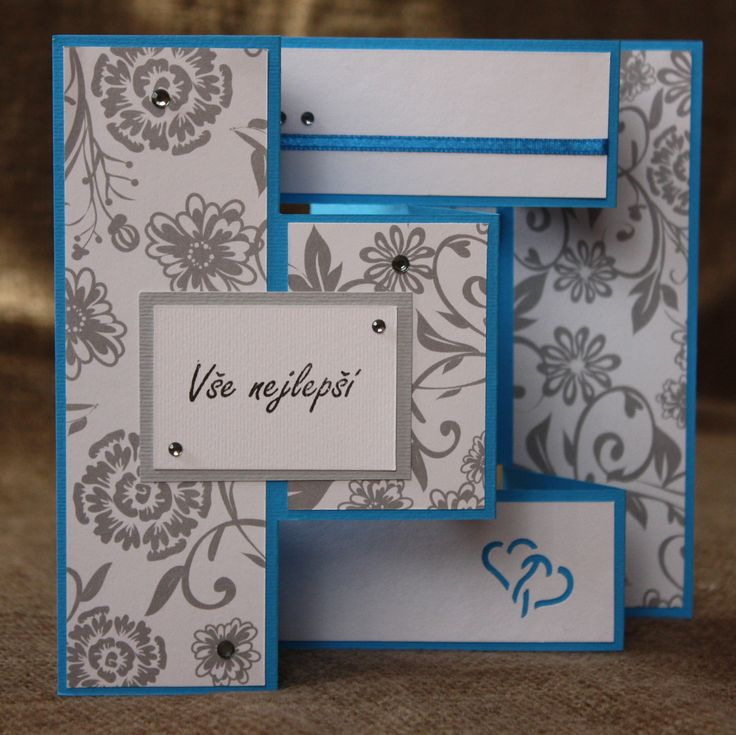 3fold wedding card