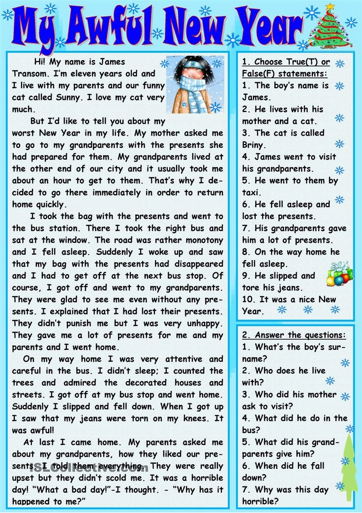 922 best images on pinterest english language learning my awful new year worksheet free esl printable worksheets made by teachers ibookread Download