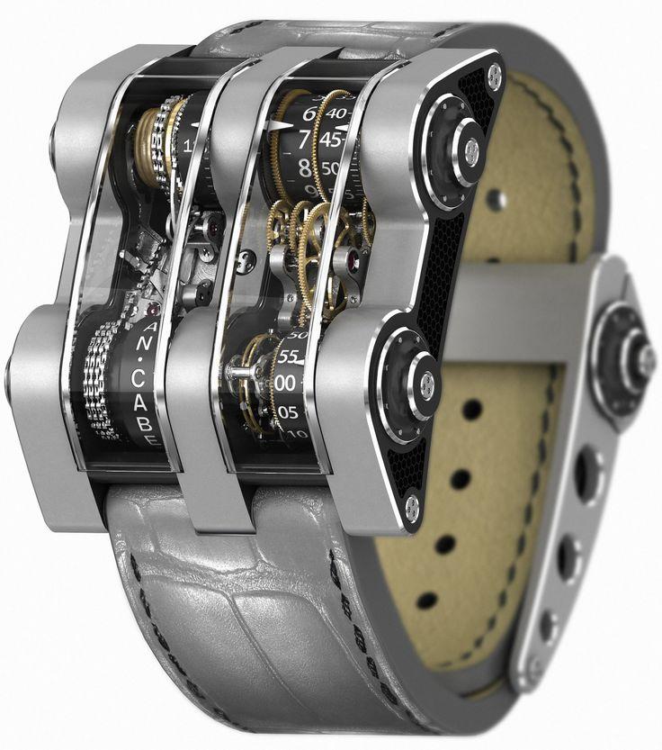 men's watches and timepieces - cabestan winch #tourbillon vertical                                                                                                                                                      More