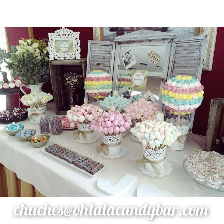 Ohlala Candy Bar | Mesas Golosinas Chuches | Buffet chucherias boda Candy bar…