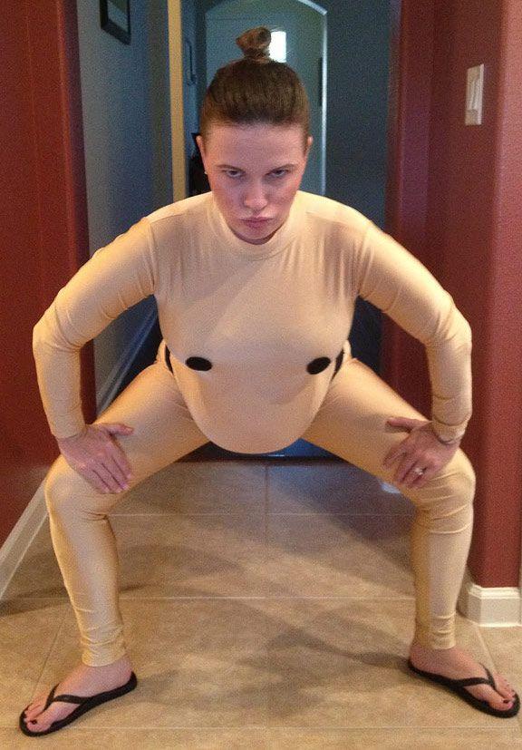Sumo Ringer | Kostüm-Idee für Schwangere zu Karneval, Halloween & Fasching