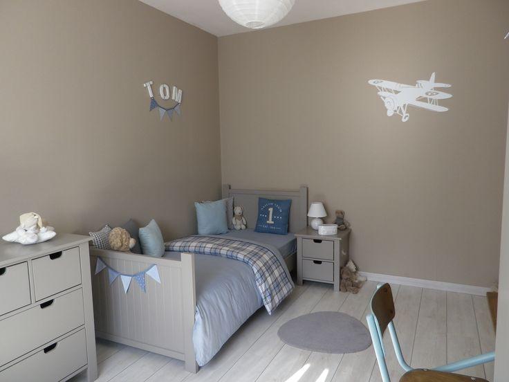 d image les ides salles attractif peinture bleu chambre garcon chambre - Comment Peindre Une Chambre De Garcon