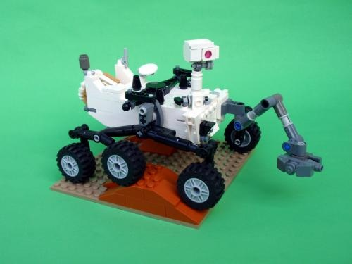 Build Your Own LEGO Mars Science Laboratory Curiosity Rover
