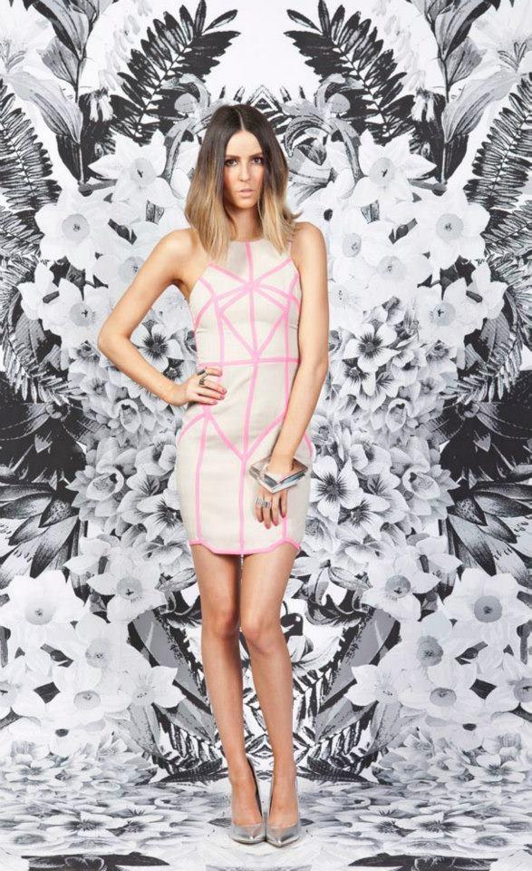 Know You Now Body Dress, Pink