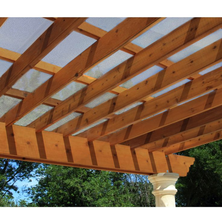 Pergola Shade Fabric, and this is a 6 x 14 Sheet.