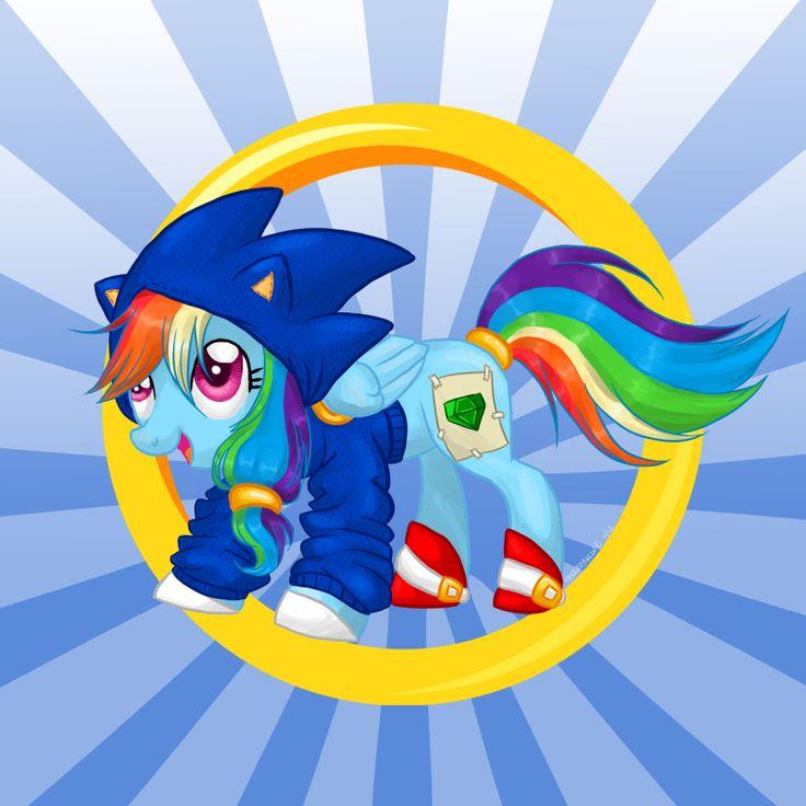 Cosplay Crossover: Rainbow Dash by TheeRoyalWe.deviantart.com on @DeviantArt