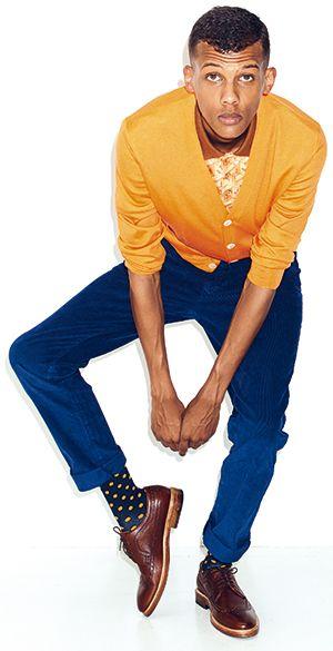 J'ai choisi Stromae (Paul Van Haver) parce qu'il est un de mes favori chanteurs!
