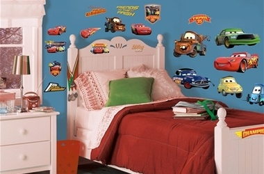 Cars Piston Cup wall decals wall2wallstickers.com