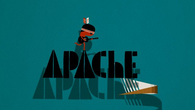 Apache - Music video for the band Danger Beach Directed by Ned Wenlock Character animation by Rodney Selby