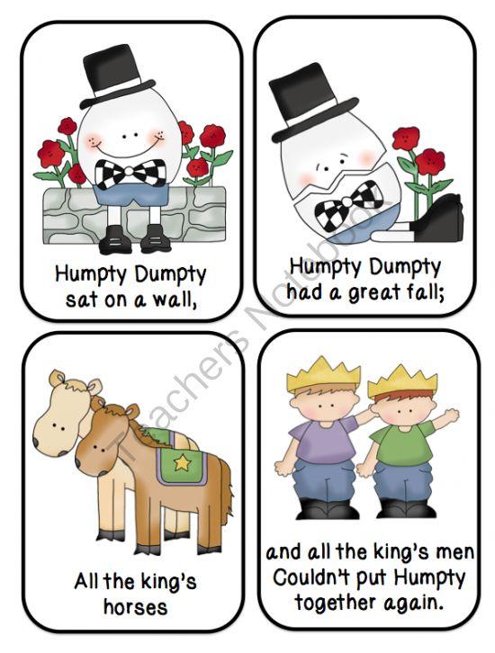 Humpty+Dumpty+Nursery+Rhyme+Printable
