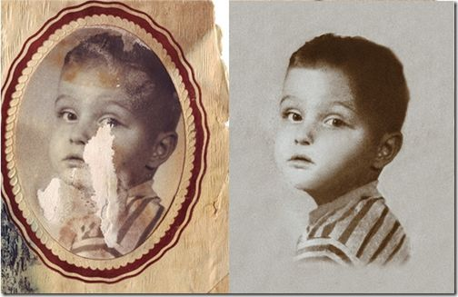25 Photoshop Tutorials For Repairing Your Old And Damaged Photos