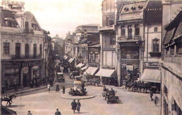 poze desktop Poze vechi, intrarea Lipscani, 1928