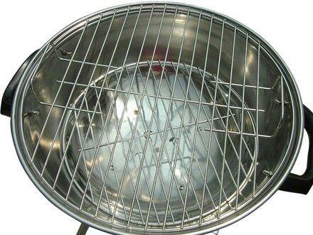 Grelha redonda para por no Wok e usar para cozimento a vapor e defumador