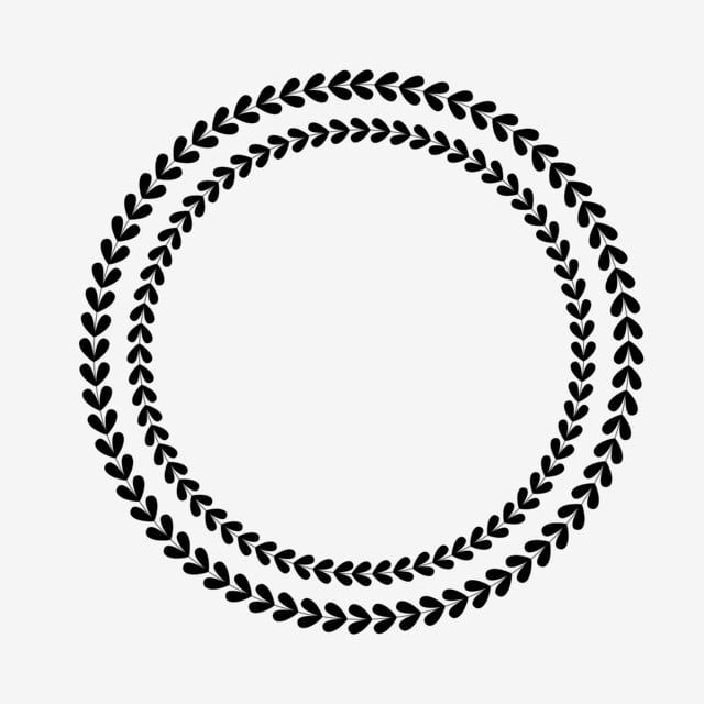 Lovely Leaves Circle Frame Design Clipart Png Vector Element Leaves Lovely Leaves Circle Png And Vector With Transparent Background For Free Download Circle Frames Circle Frames Clipart Frame Design