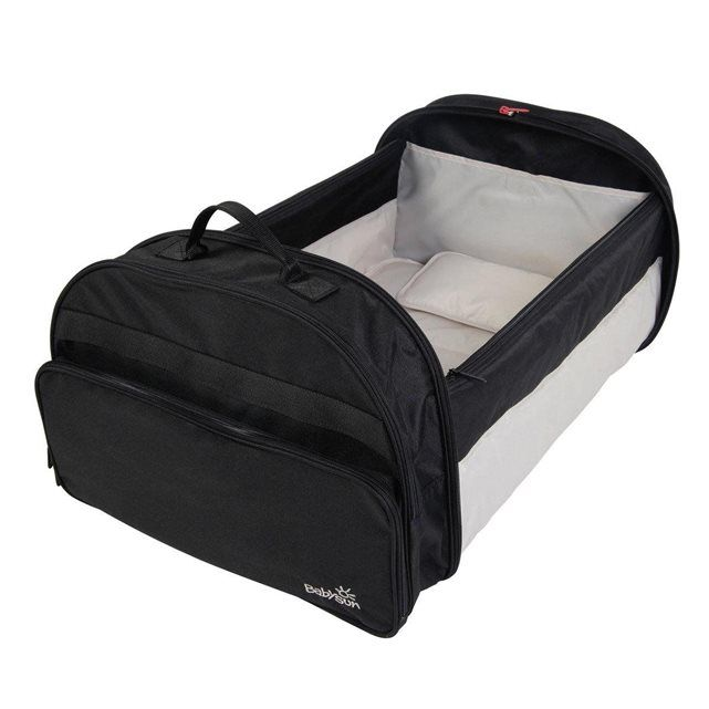 COUFFIN NOMADE NOIR SIMPLE BED