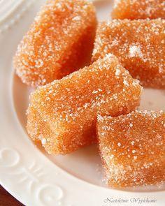 Nastoletnie Wypiekanie: Jabłkowe galaretki w cukrze