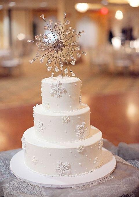 Best 25+ Winter wedding cakes ideas on Pinterest   Christmas ...