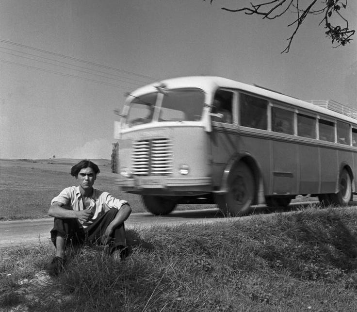 CZECHOSLOVAKIA. Farmer near Kosice, in southern Slovakia. 1955
