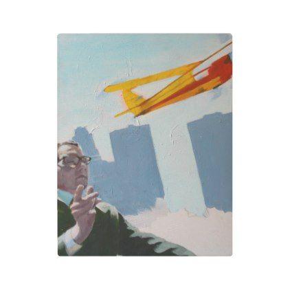 #Posters #Metal #Art - #Model Airplane Metal Print