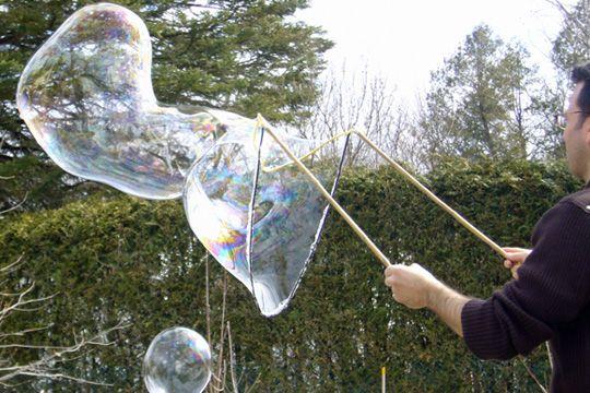 recette bulles de savon géantes