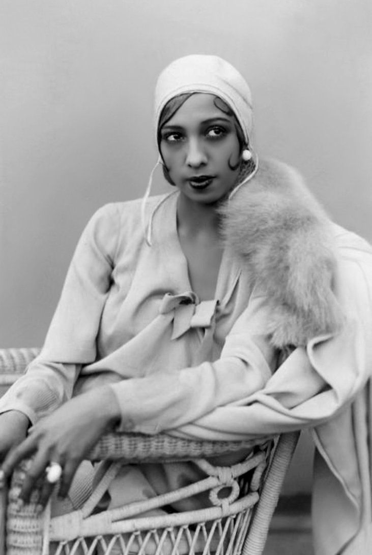 Josephine Baker, 1906-1975. American born French singer, dancer and actress.
