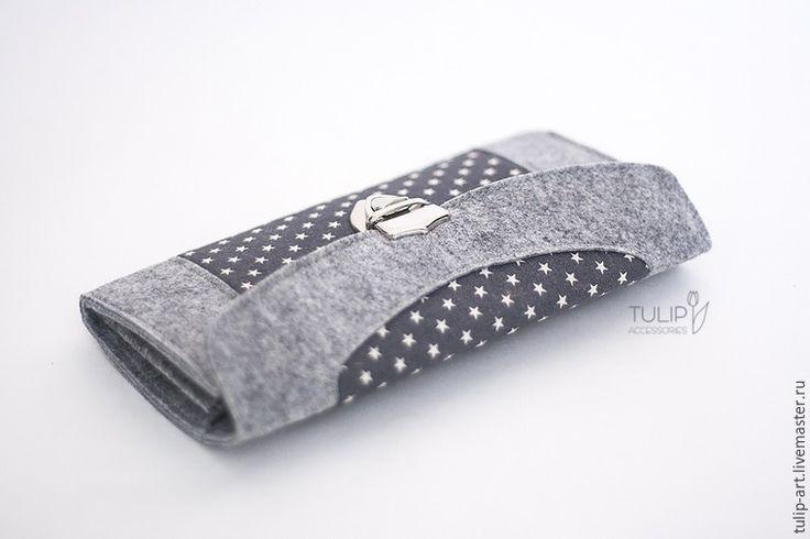Wallet sewing pattern / tutorial, felt wallet pattern. DIY Photo Tutorial