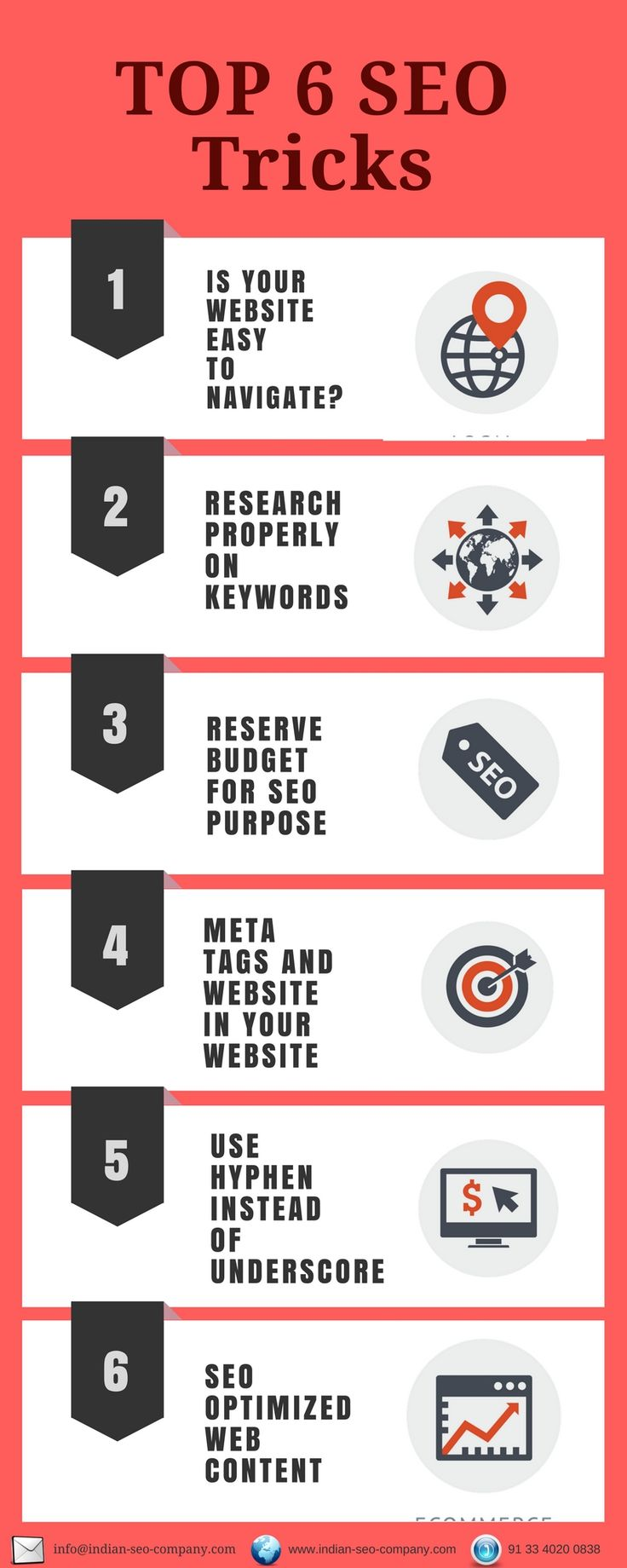 Want to know the best SEO tricks? Here are some SEO tips and tricks that you may follow to optimize your website better in 2017.