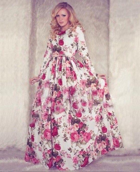 Shopo.in : Buy The Beautiful Princess Maxi Dress online at best price in Mumbai, India