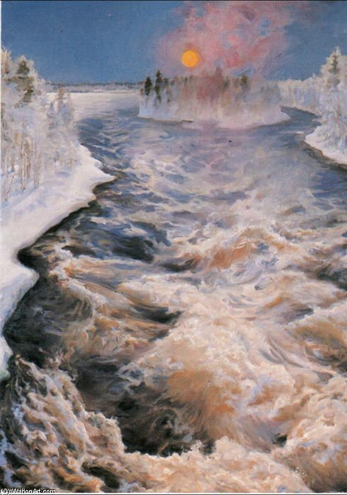 Imatra de Akseli Gallen Kallela (1865-1931, Finland)