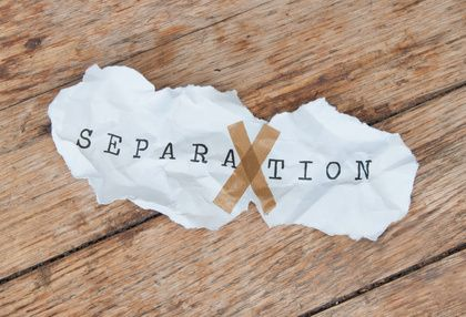 You may decide to reconcile with your spouse after signing the Marriage Separation.