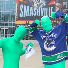 ESPN 'The Hall of Fans' Vancouver Canucks The Green Men