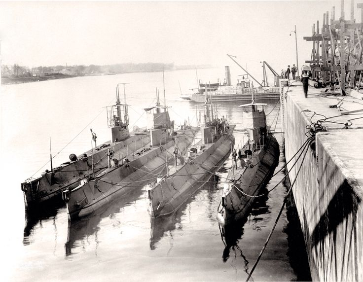Canadian Submarines WW1