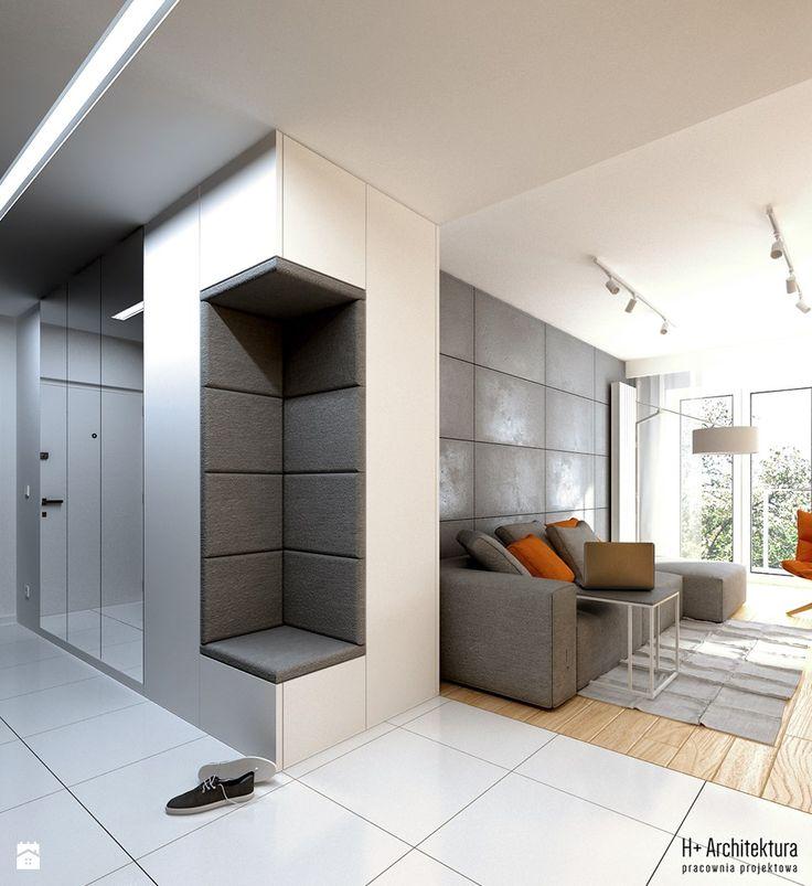 Hol / Przedpokój styl Nowoczesny - zdjęcie od H+ Architektura - Hol / Przedpokój - Styl Nowoczesny - H+ Architektura