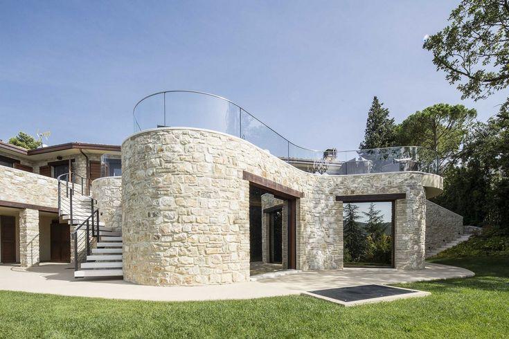 Перуджа, Италия, Giammetta Architects, реставрация частного дома, частные дома в…