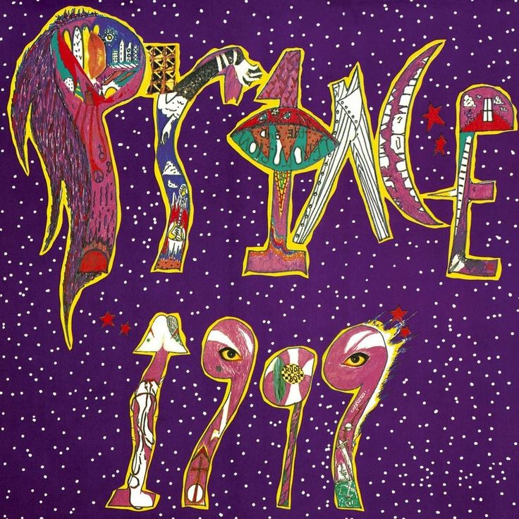 Image result for prince 1999 album cover