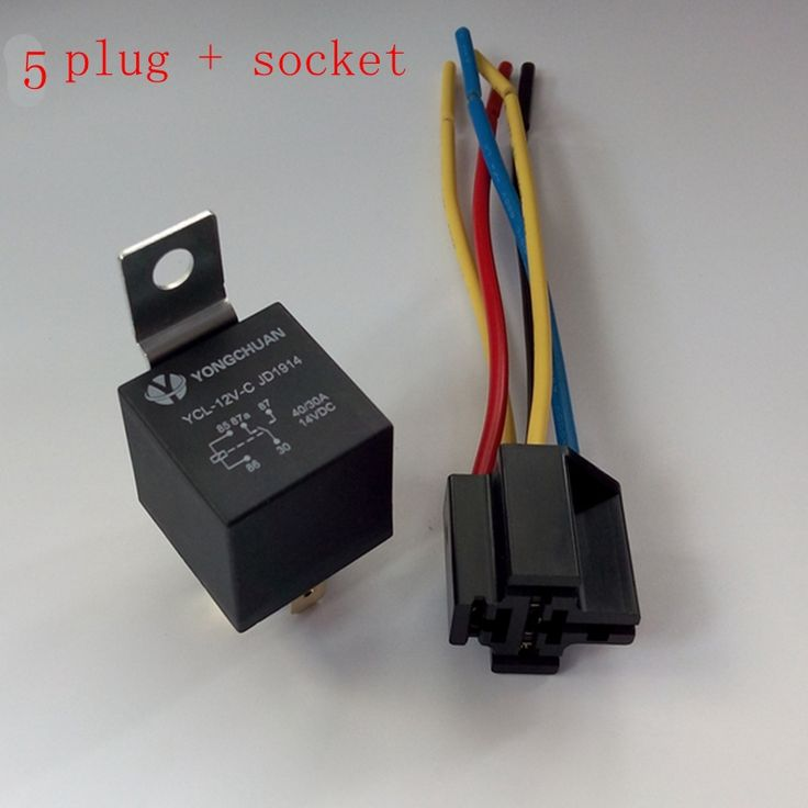 1pcs 12v 30  40 A Amp 5 Pin 5p Automotive Harness Car Auto