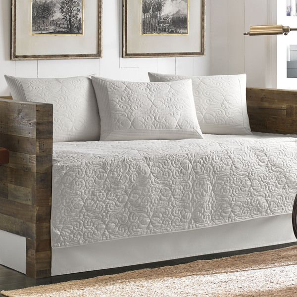 Tommy Bahama Nassau White 5-piece Daybed Cover Set